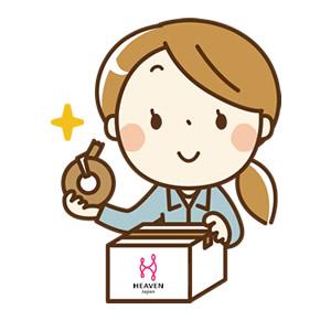 HEAVEN Japanの梱包スタッフ.jpg