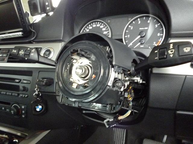 BMW 舵角センサー交換2