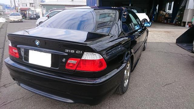 BMW ガラスコーティング2