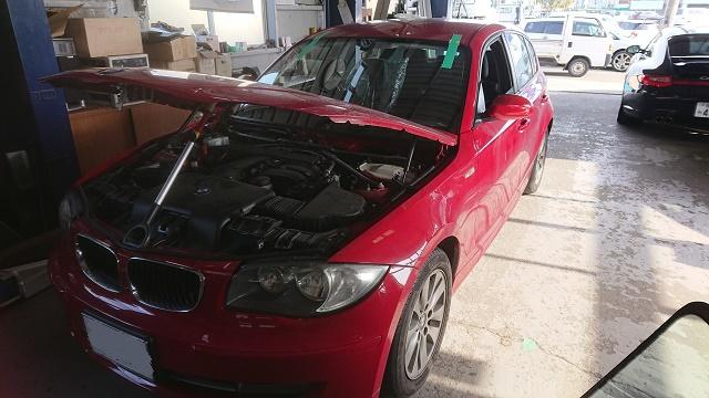 BMW ガラス交換1
