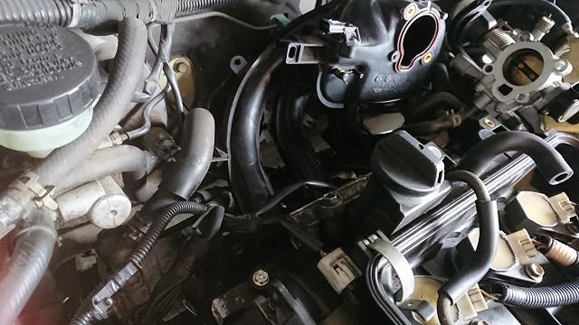 ムーブL150 冷却水漏れ2