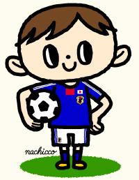 (c)nachicco,サッカー,子ども,イラスト