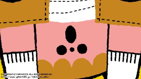 (c)nachicco, イラスト, こども, ポストカード