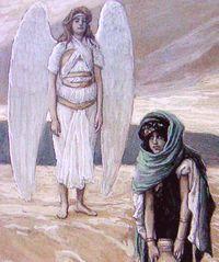 ハガルと天使