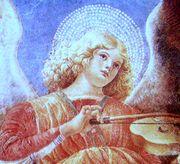 バイオリンを弾く天使