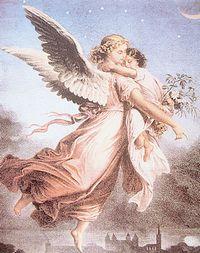 守護天使空へ