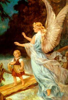 水色の守護天使