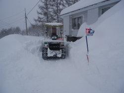 28日毎日の降雪とサーキット除雪.jpg