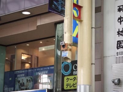 宇都宮オリオン通りに設置されているライブカメラ