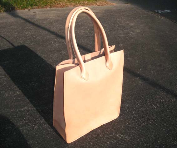HALEINE/アレンヌ キャンバスバッグ 麻 帆布 牛革 トート バッグ A4 日本製 / レディース布