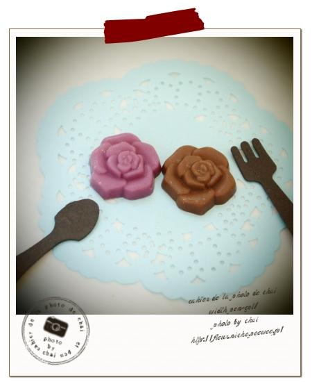 薔薇のチョコレート