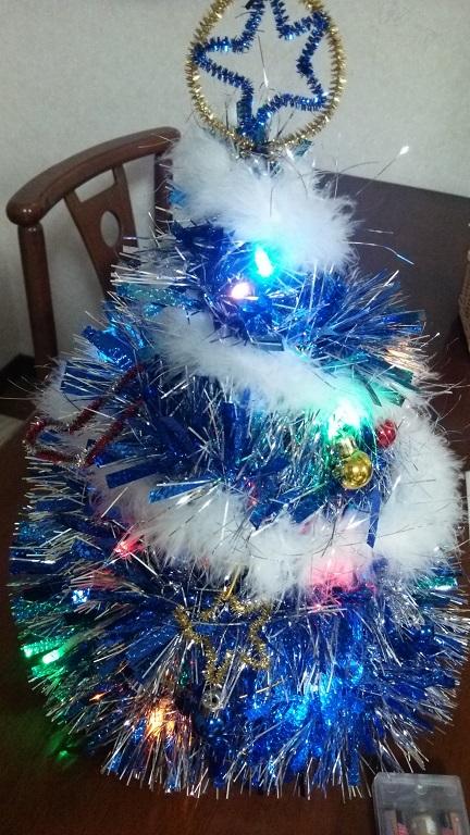 自作クリスマスツリー