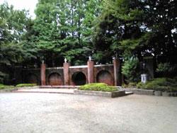 八幡山の公園