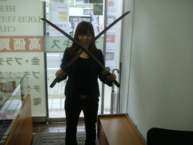 日本刀 二刀流 (^ω^) ゾロ FF ワンピース ファイナルファンタジー 千葉県千葉市中央区登戸