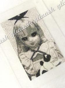 リカちゃん人形写真デコ