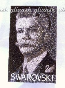 ダニエルスワロフスキーポートレートデコ