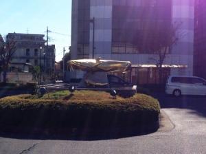 黄金のナマズ・吉川駅