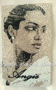 Angelina Jolie portrait Decoration
