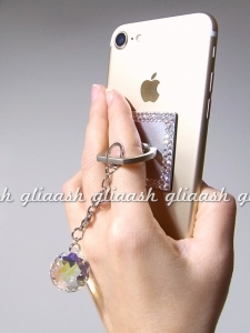 Decoration Bunker Ring Smartphone Swarovski