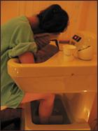 温浴器体験