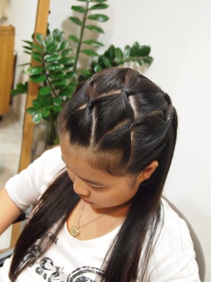 卒業式 袴 髪型 画像