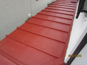 トタン屋根塗装錆止め塗