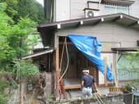 青梅市浴室増築工事