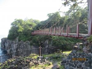城ヶ埼海岸吊り橋
