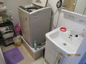 青梅市マンション洗面室改築後