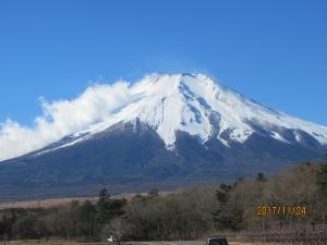 秋の富士山綺麗です