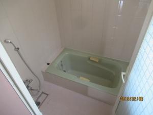 青梅市浴室既存の様子