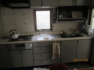 青梅市既存キッチン