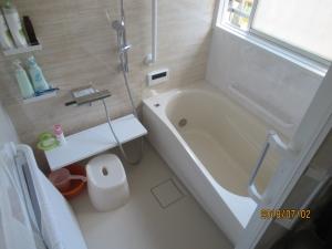 青梅市浴室工事完成