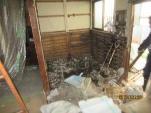 青梅市浴室解体