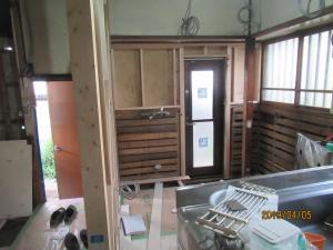 青梅市キッチン解体