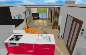 羽村市我が家のキッチンリフォーム