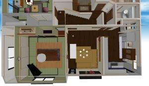 羽村市我が家既存キッチンイメージ