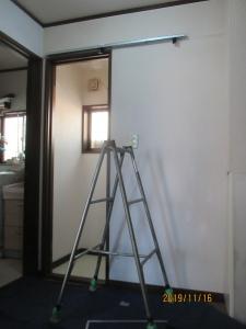 福生市介護保険ドア交換
