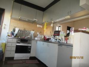 羽村市我が家リフォーム前キッチン
