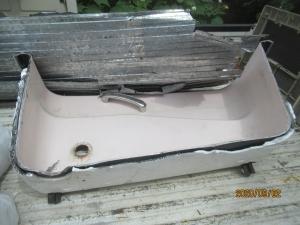 羽村市鋳物ホーロー浴槽切断