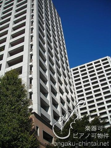 西戸山タワーホウムズサウスタワー/防音室のある特別室