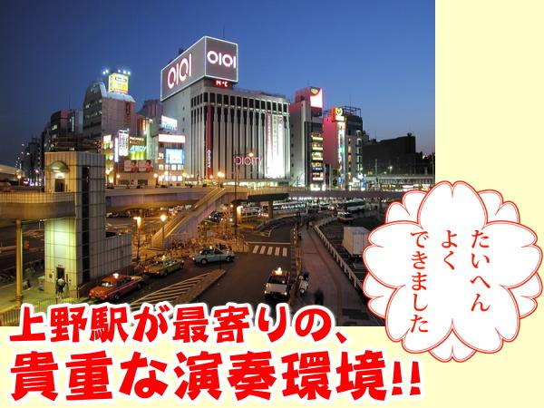 アーバンステージ上野 大型1Kロフト付き ポイント