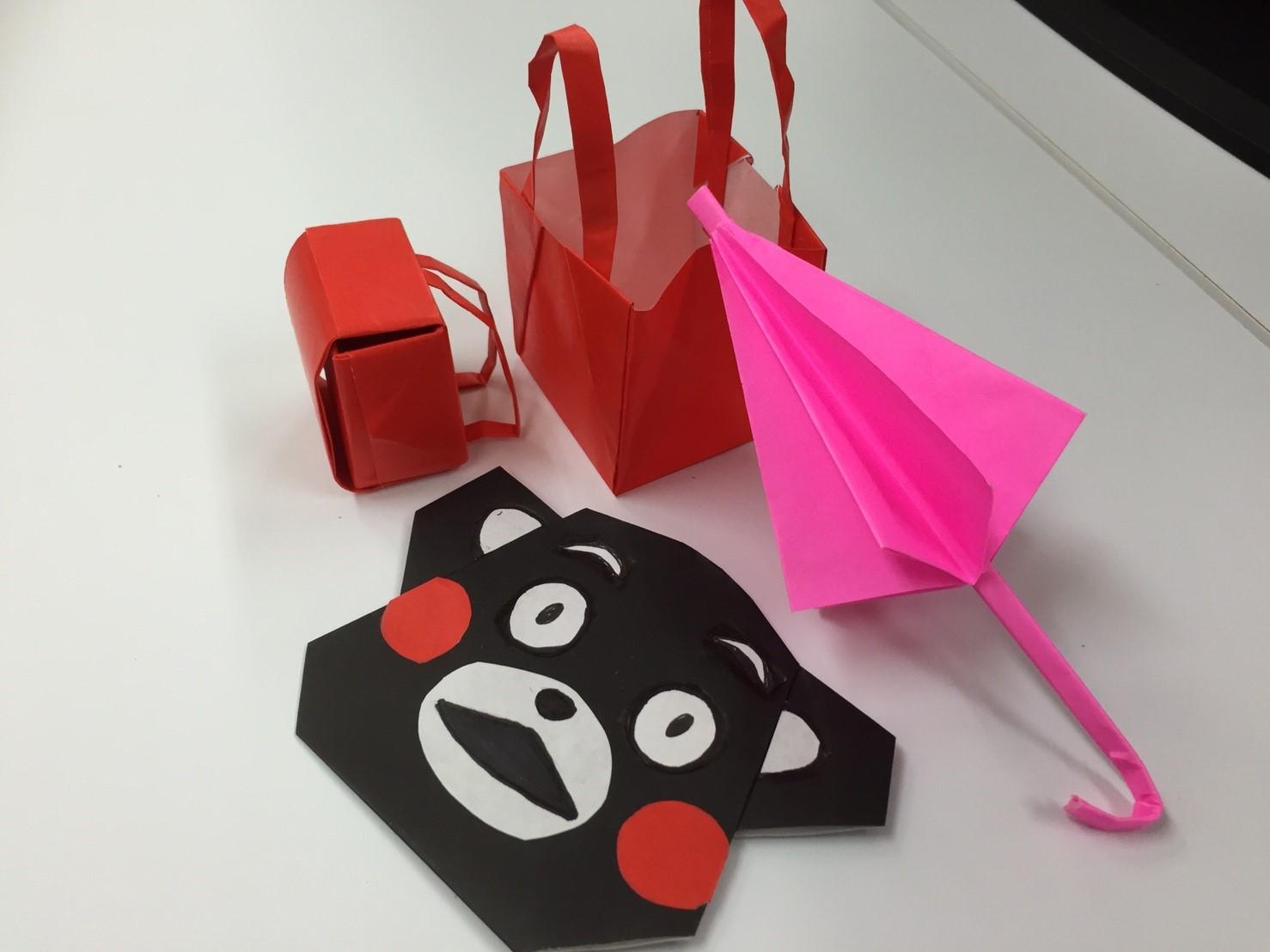 折り紙!?
