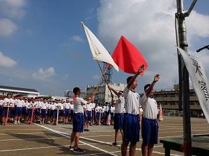 浦安市立9中学校で体育祭が開催...