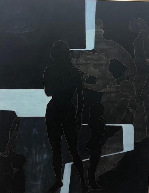c492ead32213 現代美術家協会主催の「第75回記念現展」が国立新美術館で10日まで開催されます。文化交流サポート浦安のメンバーで友人の田中曽女さんの展示絵「森の中 -遠野」拝観。