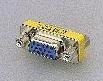 小型D-SUB9pinオスメス変換コネクタ