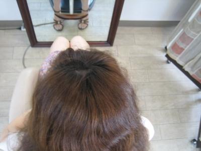 奈良市学園前の縮毛矯正前