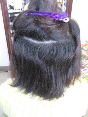 生駒市 縮毛矯正の画像