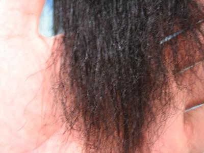 大和高田市の美容室 縮毛矯正の失敗