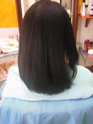 大和高田市 縮毛矯正の失敗の修正